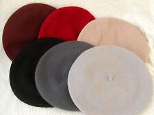 Damen Mütze Baskenmütze Wollbaske TrendTragevarianten Farbauswahl Winter Herbst