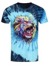 Unorthodox Makunga Blue Ocean Tie Dye Men's T-shirt