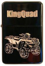 Suzuki KingQuad Benzinfeuerzeug Quad Feuerzeug King Quad Sturmfeuerzeug