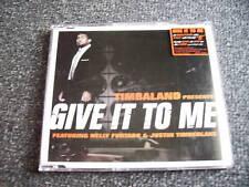 Timbaland-Give it to Me Maxi CD-Made in EU-Timberlake