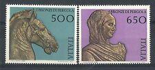 1988 ITALIA ARTE ITALIANA I BRONZI DI PERGOLA MNH ** - ED