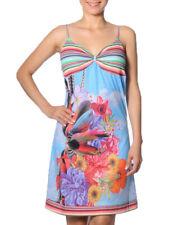 Smash Barcelona S-XXL UK 10-18 RRP ?46.50 Oliveira Dress Blue Cloud Floral