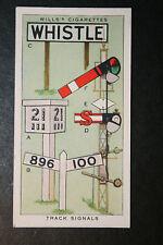 Pre Nationalisation Era Railway Track Signs  Original 1930's Vintage Card  VGC