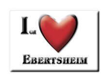 DEUTSCHLAND SOUVENIR - RHEINLAND PFALZ MAGNET EBERTSHEIM (BAD DÜRKHEIM)