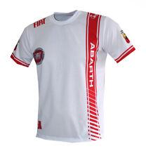 Fiat Abarth Car Logo White Color handmade high quality graphics t-shirt