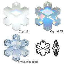 Swarovski Crystal 6704 Snowflake 20mm Pendant