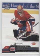2001-02 Pacific #206 Mathieu Garon Montreal Canadiens Hockey Card