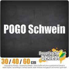 Pogo Pig chf0025 in 3 sizes JDM Rear window Sticker