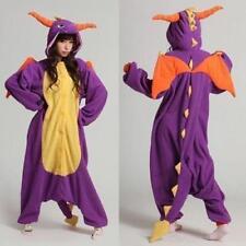 Spyro Dragon Unisex Adult Kigurumi Pajamas Anime Cosplay Costume Dress
