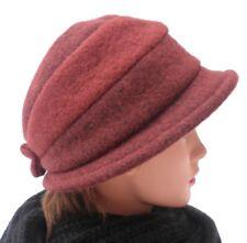 Cappello da Donna di Lana   Berretto Elegante Applicazioni Colore a Scelta f26b5021c17b