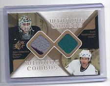2007-2008 SPx Hockey J S Giguere/ Scot Niedermayer Winning Combos Jersey Card
