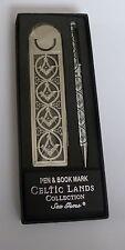 MASONIC SQUARE AND COMPASS PEN AND BOOKMARK SET IN PRESENTATION BOX