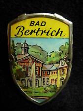Bad Bertrich used shield mount hiking medallion stocknagel G2123