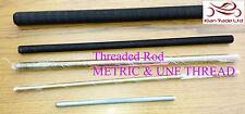 M10,12,14,16,18,20 & unf filetage en acier plaqué entièrement tige filetée / bar / rivets