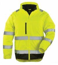 Warnschutzjacke, Warnjacke, Hi-Way Xtra, gelb/schwarz, 2 in 1