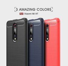 Housse etui coque silicone gel carbone pour Xiaomi Mi 9T Pro + film ecran