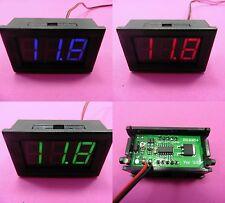 """2 Fili DC 5-120v Digital Voltmetro Display Tensione della Batteria 0.56"""" auto elettrica"""