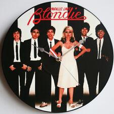 """Blondie - Parallel Lines (1978) - 12"""" Vinyl Record Clock, Debbie Harry"""