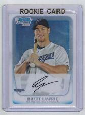 2011 Bowman Chrome Brett Lawrie Rookie Card RC #BCP175 Mint