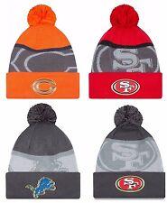 NEW ERA SPORT KNIT NFL Gold Edition On-field Sideline Beanie Pom Knit Cap Hat