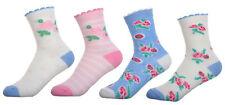 Girls Floral Design socks 4 pairs per pack