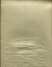 1997 Lincoln Navigator Deluxe Media Brochure
