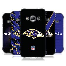 OFFICIAL NFL BALTIMORE RAVENS LOGO SOFT GEL CASE FOR SAMSUNG PHONES 4