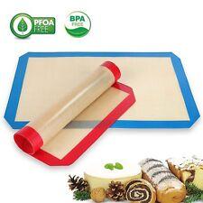 """Genuine BPA Free Non-Stick Baking Mat Half Sheet 16.5"""" x 11 5/8"""" Set of 2/4/6/8"""
