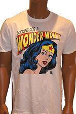 Oficial Wonder Woman Hombre y mujer camiseta,DC Comics WB tm URBANO RETRO