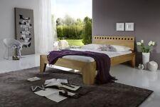 Stella Plus Eiche massiv Bett geölt mettallfreies Stecksystem Komforthöhe