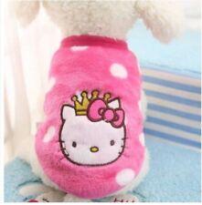 Abbigliamento Maglia felpata Hello Kitty rosa per cane taglia piccola media