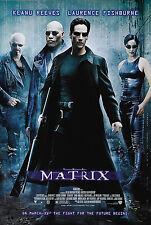 The Matrix Movie Poster |Sizes A3 to A1+| DVD BluRay Frame Art Box Set Neo Keanu