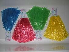 Set pon pon Cheerleader vari colori-per travestimenti