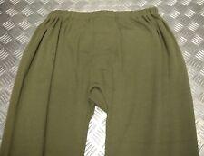 ORIGINALE forze militari britanniche Pantaloni lunghi/Biancheria intima termica