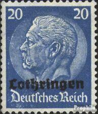Lothringen (Dt.Bes.2.WK.) 9 postfrisch 1940 Hindenburg