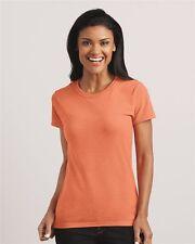 Gildan Ladies Cotton T-SHIRTS Women BULK LOT Colors White S-XL Wholesale 5000L