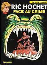 Ric Hochet 38. Face au crime. TIBET 1984 - Neuf