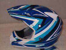 "MSR XSmall ""Velocity"" Blue & White Off-Road Helmet-$139"