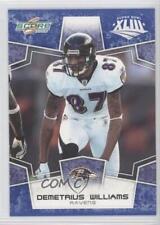 2008 Score Factory Set Base Blue #25 Demetrius Williams Baltimore Ravens Card