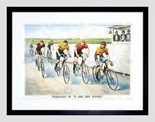 Sport Memorabilia Cycling Bicycle Racing Vintage Ad Art Print B12X1259