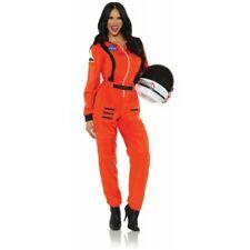 Underwraps Female Astronaut NASA Orange Adult Womens Halloween Costume 29959