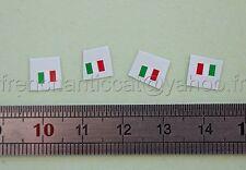 AF Véhicule miniature 1/43 decalcomanie drapeau italie Heco dioarama garage