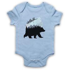 JOIN THE WILD BEAR GRAFFITI STYLE WILDLIFE LOVE NATURE BABY GROW SHOWER GIFT