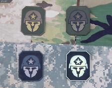 Mil Spec Monkey MSM Modern Spartan PVC Morale Patch-Multicam-Woodlan-SWAT-Glow