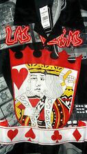 NWT KING OF HEARTS HAWAIIAN SHIRT casino Las Vegas S M, L, 2X