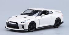 1:24 Bburago NISSAN GT-R Alloy Sports Car Model Kids Toys