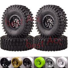 "4x Rock Crawler Wheels Rim OD:120MM ID:1.9""  Tyres RC 1:10 CC01 D90 SCX10 HSP"