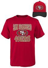 San Francisco 49ers Youth Boys T-Shirt & Hat Set