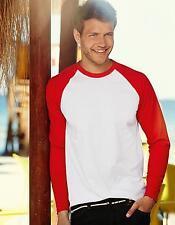 Long Sleeve Baseball Herren T-Shirt | Fruit of the Loom