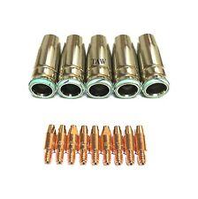 MB25 KIT Torcia di saldatura MIG-Collari fissi e suggerimenti-dimensioni a scelta